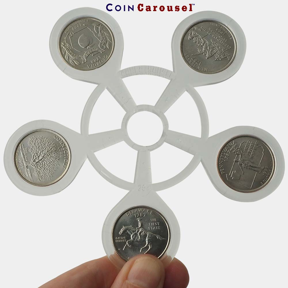 Coin Carousel_1999 50 State Quarters