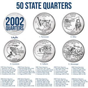 2002 50 State Quarters