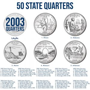 2003 50 State Quarters