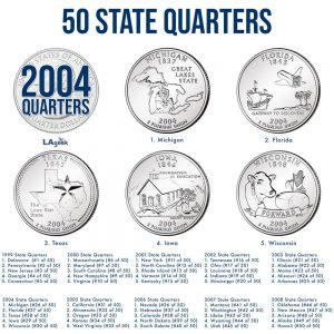 2004 50 State Quarters