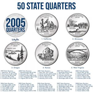 2005 50 State Quarters