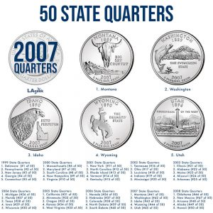 2007 50 State Quarters