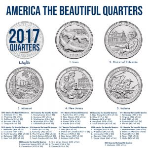 2017 America the Beautiful Quarters