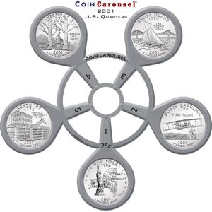 2001 50 State Quarter Coin Carousel