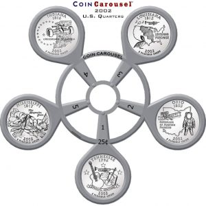 2002 50 State Quarter Coin Carousel