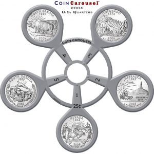2006 50 State Quarter Coin Carousel