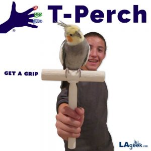 The Bird Trainer_T-Perch